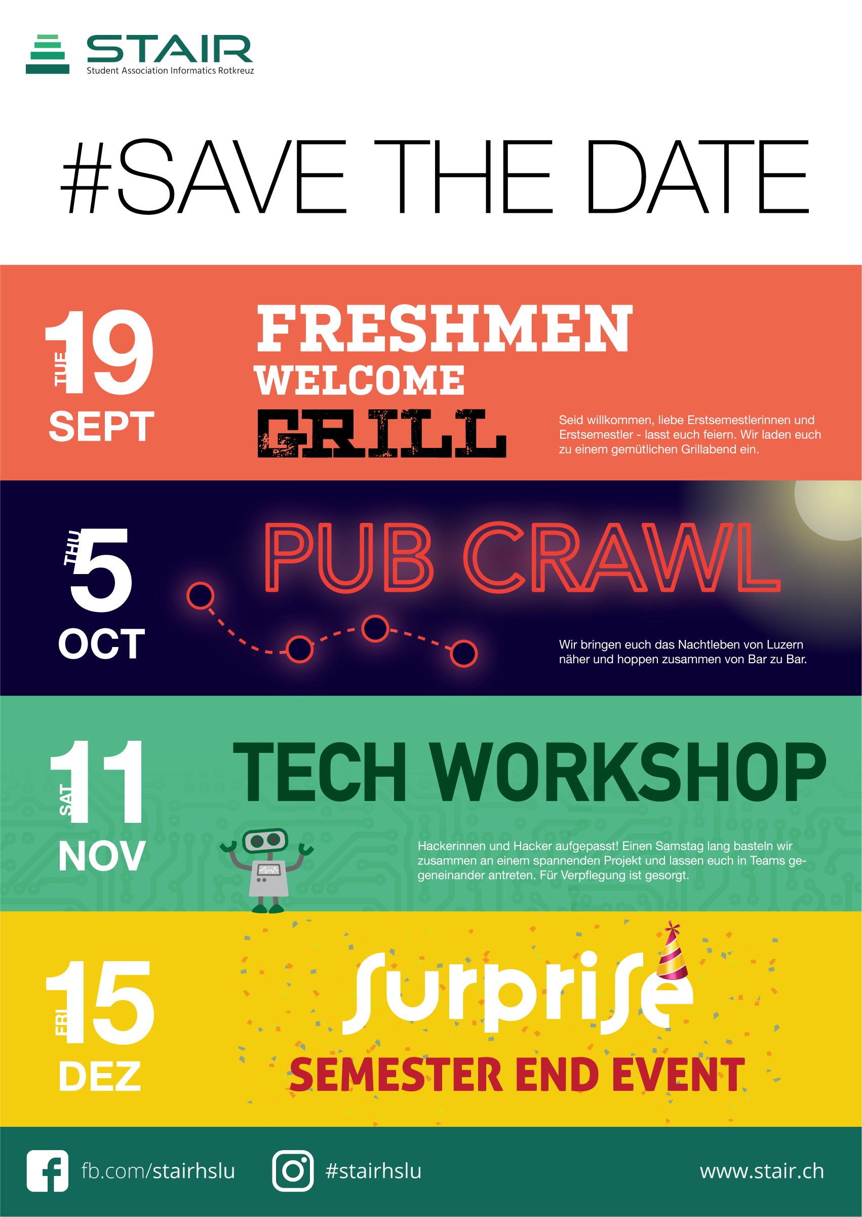 Save The Date HS17