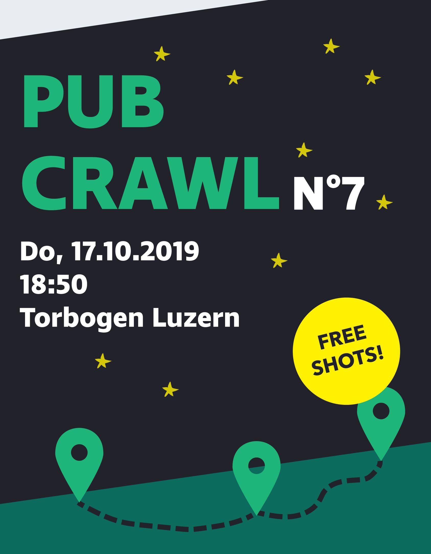 Pub Crawl #7